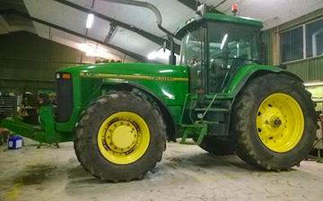 Blomgren maskin service  med Traktor 201-300 hk ved Augustenborg