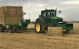 Wrm agri ltd  with Bale chaser at Kettlebaston