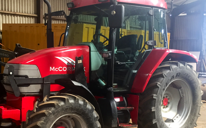 Lawrence earls tractor driver hire with Tractor 100-200 hp at Cornforth