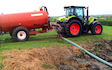 Kalin contracting ltd with Slurry spreader/injector at Manaia