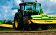 T&b agricultural contractors ltd with Mower at United Kingdom