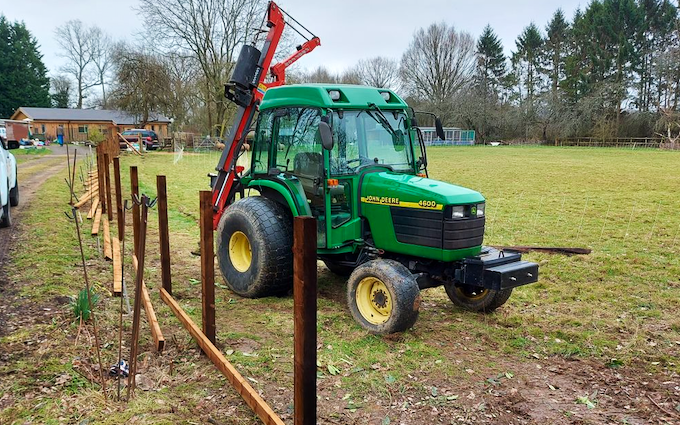 Smith all terrain contracting with Fencing at Ockford Ridge
