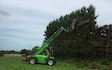 Doin it ltd contracting with Hedge cutter/mulcher at Manaia