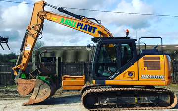 Dhall plant - plant hire & groundworks with Excavator at Pensilva