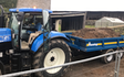 Trafalgar contracting & hire with Tipping trailer at Ackenthwaite