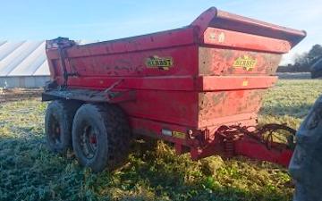 Ph agro med Dumper ved Tjele