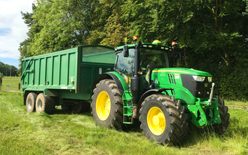 Harrison agri with Tractor 201-300 hp at Saddington