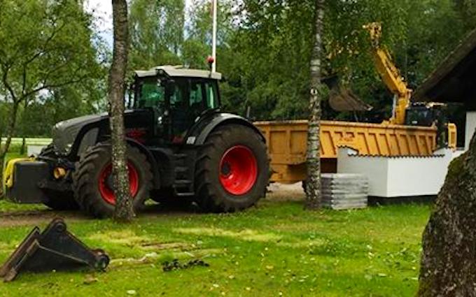 Sj maskinudl/entreprenør og markservice med Dumper ved Nørre Snede