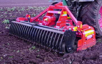 A.w howells contracting  with Power harrow at Stanford Bishop