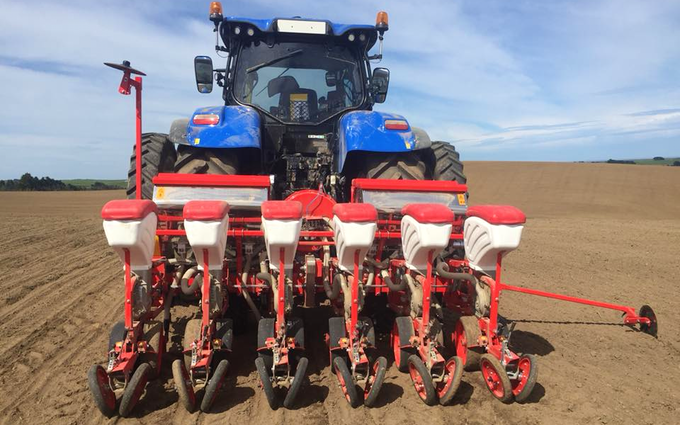 Johnstone contracting ltd with Precision drill at Tokanui
