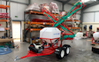 Jc services with ATV sprayer at East Hanningfield