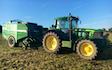 Nick ley contractors  with Baler wrapper combination at Cookbury