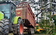 Bright's agri contracting with Silage/grain trailer at Barn Park