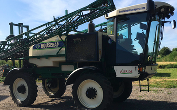 Dm agri with Self-propelled sprayer at Whitfield