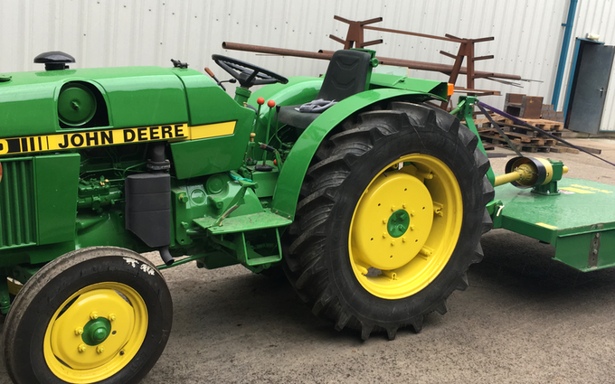 Jalna construction  with Tractor under 100 hp at Newby