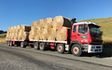 Kalin contracting ltd with Flat trailer at Manaia
