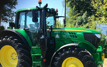 Edwards agricultural services  with Tractor 100-200 hp at Bamber Bridge