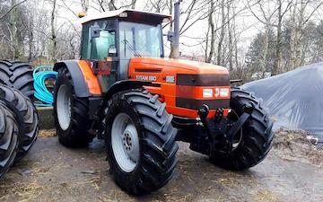 Jysk maskinstation aps med Traktor 101-200 hk ved Tårs
