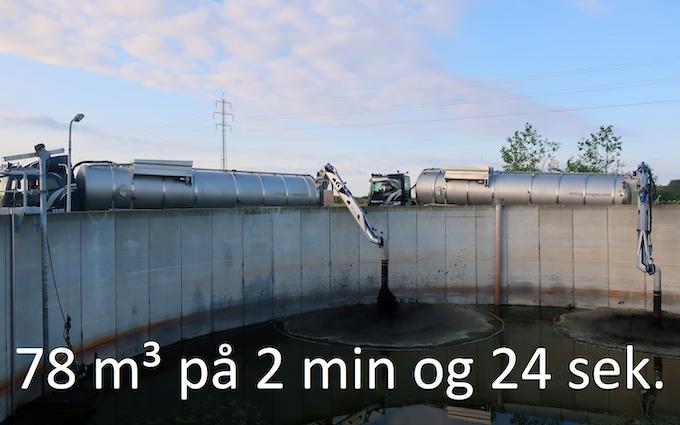 Lemvig biogas med Trailer ved Lemvig