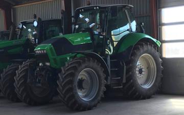 Skyttegård med Traktor 201-300 hk ved Nykøbing Falster