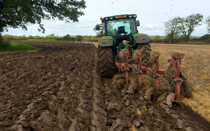 A c harris contracting  with Plough at Kingston Seymour
