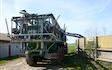 Halsted maskinstation med Gyllevogn med slangebom ved Harpelunde