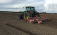Td agri ltd with Precision drill at Bury Saint Edmunds