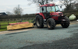 C.a.williams agri services with Mower at Twemlow Green