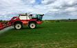 Smith agri with Self-propelled sprayer at Edmondsley