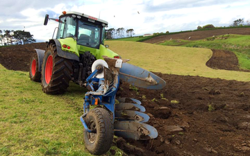 Kalin contracting ltd with Plough at Manaia