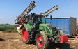 Crop spraying cornwall with Self-propelled sprayer at Saint Michael Penkivel