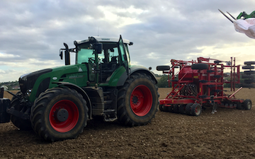 Notley farming with Drill at United Kingdom