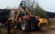 Wildwoods contractors with Hedge cutter at United Kingdom