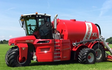 Alternative fertiliser solutions  with Slurry pump at Sutton Benger