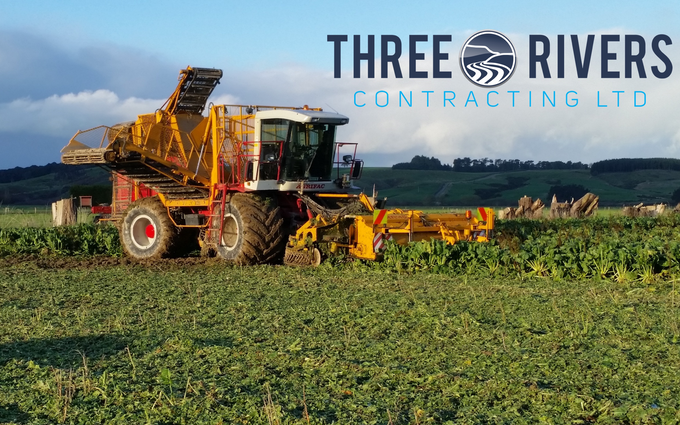 Three rivers contracting  with Beet harvester at Wyndham