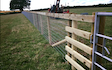 A.w howells contracting  with Fencing at Stanford Bishop