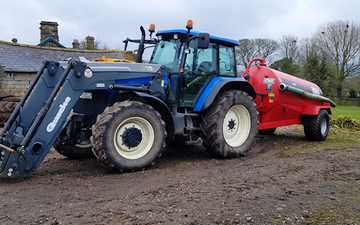 M sheldon agriculture and groundcare  with Slurry spreader/injector at Baslow