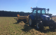 Owen ag ltd. with Small square baler at Prebbleton