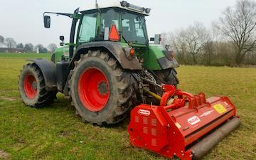 Havemark maskinservice med Brakpudser ved Haslev