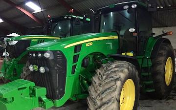 Fælledkærgaard med Traktor 201-300 hk ved Nørager