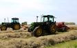 Belsham farming with Rake at United Kingdom
