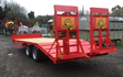 Jlr farm services with Low loader at Misterton