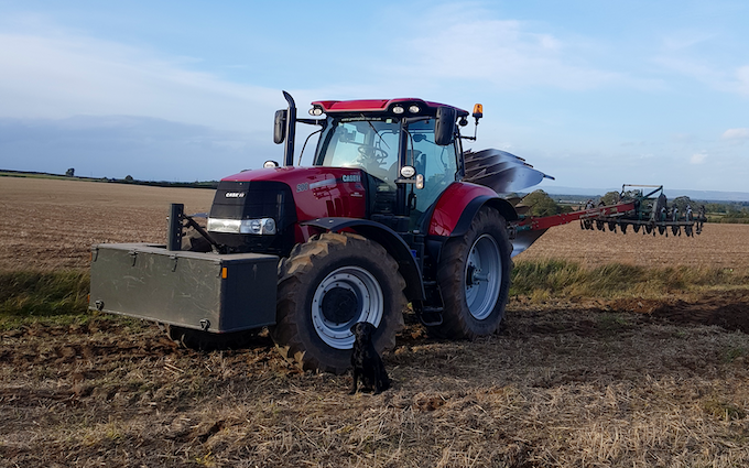 B lister agric contracting with Plough at York Road