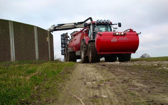 Egebjerg maskinstation med Sortjordsnedfælder ved Vinderup