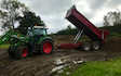 Peascliff contracting  with Dumper at Barkston