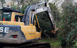 B j goose digger hire ltd  with Verge/flail Mower at United Kingdom