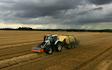 Wrm agri ltd  with Large square baler at Kettlebaston