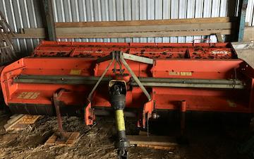Overgaard landbrug & anlægsservice med Brakpudser ved Børkop