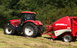 Uhs agriculture with Round baler at Swarland