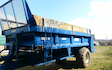 Mill farm ashorne, agricultural contractors with Manure/waste spreader at Ashorne